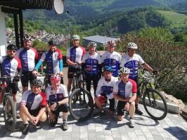 Radsportgruppe aus Kirrlach testen Murgtal Moutainbike-Touren